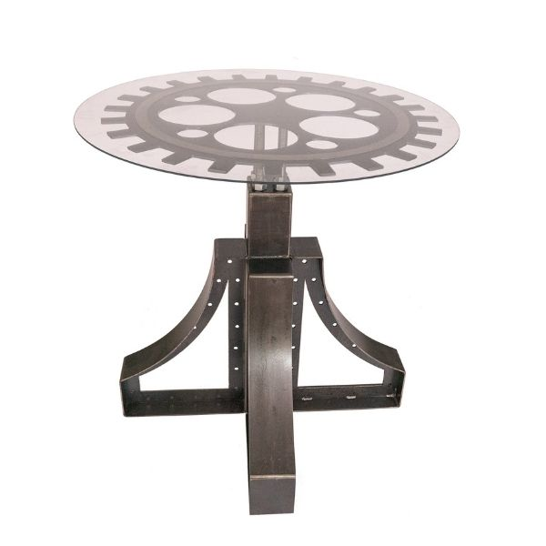 Gear Accent Table